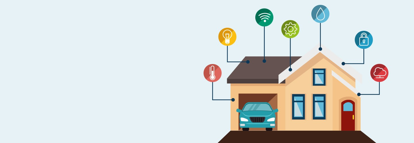 Live Green Image Of Smart Home